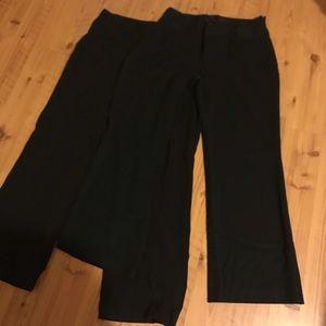 Black Maurice's Dress Pants 13/14 S